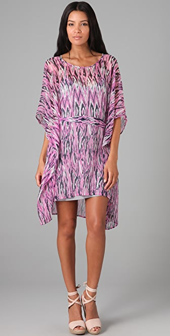 Ella Moss Print Caftan Dress