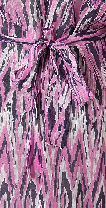 Ella Moss Print Caftan Dress