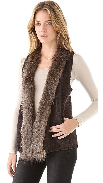 Ella Moss Sherwood Fur Vest