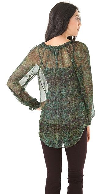 Ella Moss Enchantress Blouse with Long Sleeves