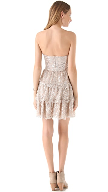 Ella Moss Cherie Strapless Lace Dress