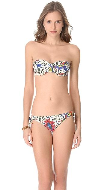 Ella Moss Trellis Tunnel Bikini Bottoms