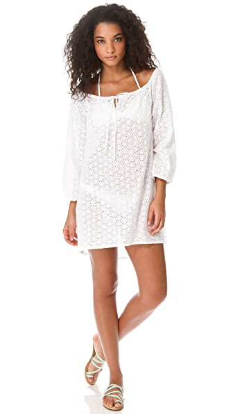 Ella Moss Trellis Tunic Cover Up Dress