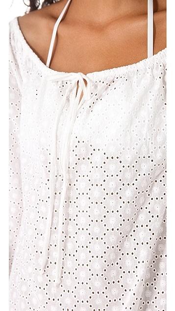 Ella Moss Trellis Tunic Cover Up Dress