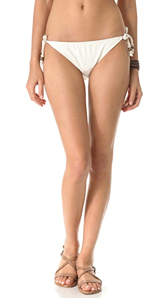 Ella Moss Reflection Tie Side Bikini Bottoms