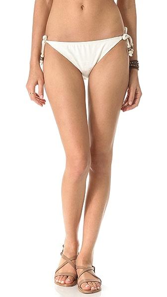 Ella Moss Reflection Tie Side Bikini Bottoms