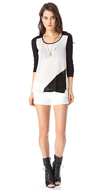 Ella Moss Harper Long Sleeve Top