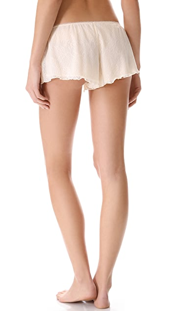 Ella Moss Luxe Lace Tap Shorts