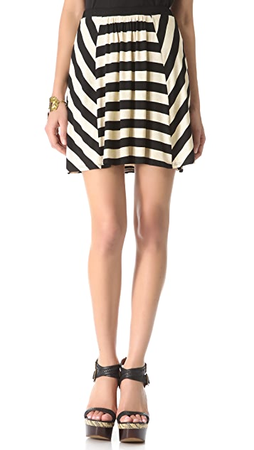 Ella Moss Sam Striped Skirt