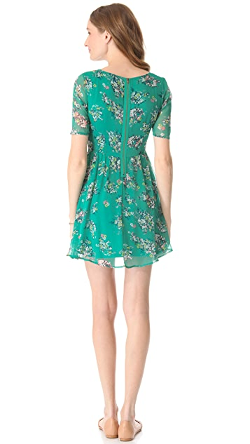 Ella Moss Citrus Floral Dress