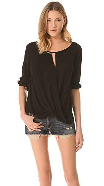 Ella Moss Stella Long Sleeve Blouse