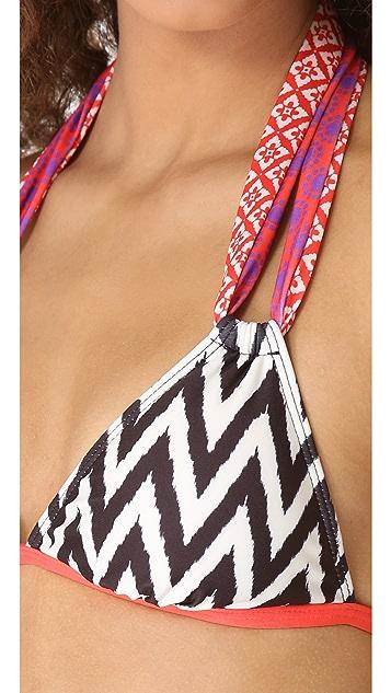 Ella Moss Mazzy Halter Bikini Top
