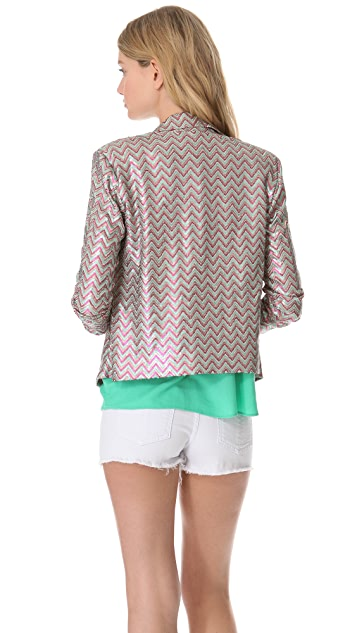 Ella Moss Joliet Sequin Blazer