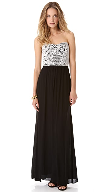 Ella Moss Lily Strapless Maxi Dress