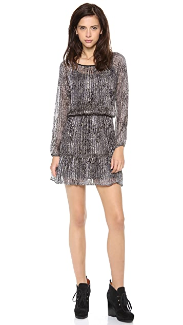 Ella Moss Lynx Long Sleeve Dress