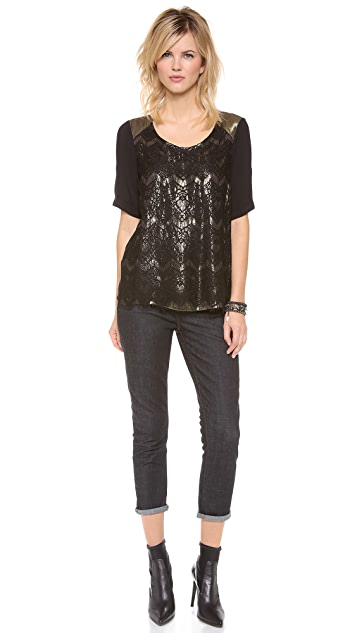Ella Moss Farrah Lace Top