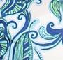 Vista Blue Lace/Blue Paisley