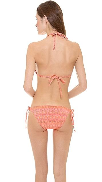 Ella Moss Moon Shadow Triangle Bikini Top