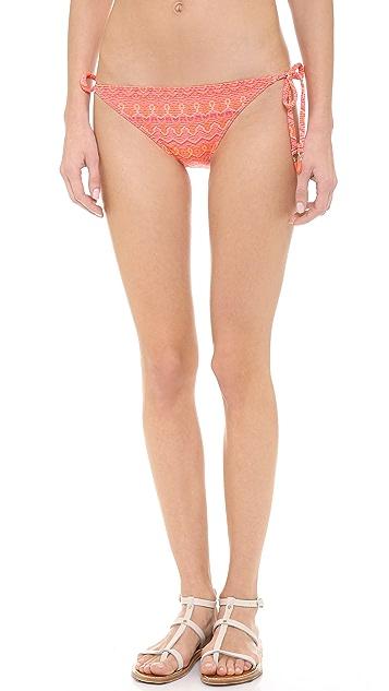 Ella Moss Moon Shadow Tie Side Bikini Bottoms