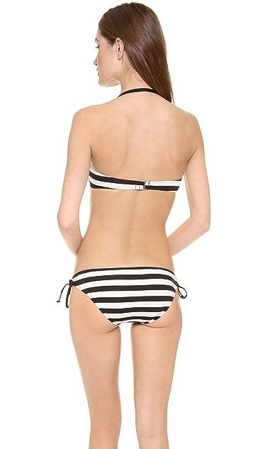 Ella Moss Cabana Stripe Bikini Top
