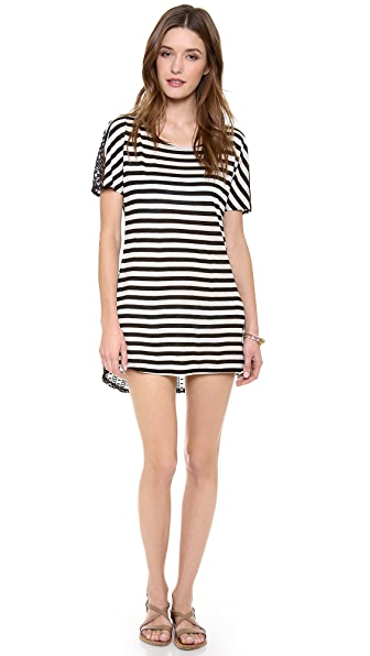 Ella Moss Cabana Stripe Cover Up