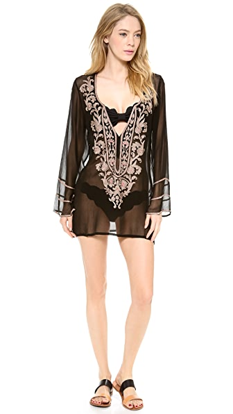 Ella Moss Belle Floral Tunic Cover Up