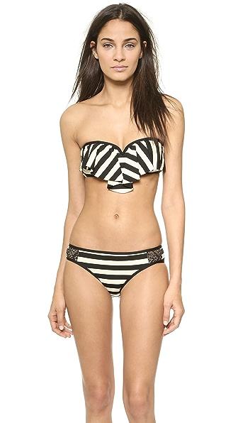 Ella Moss Cabana Sweetheart Bikini Top