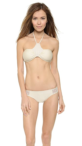 Ella Moss High Neck Bikini Top