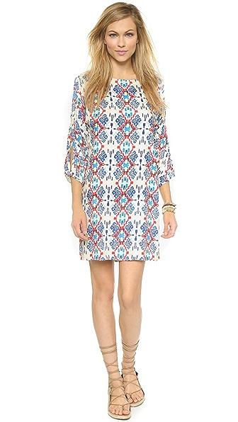 Shop Ella Moss online and buy Ella Moss Tierra Mini Dress Rojo dresses online