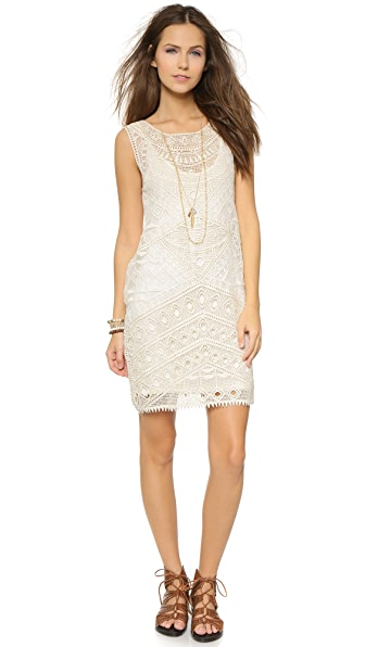 Kupi Ella Moss online i prodaja Ella Moss Lupita Mini Dress Natural haljinu online