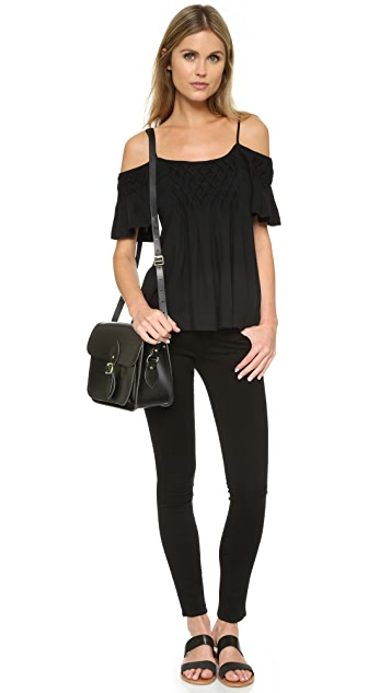 Ella Moss Stella Cold Shoulder Blouse