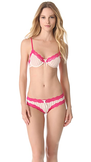 Elle Macpherson Intimates Sheer Ribbons Underwire Bra