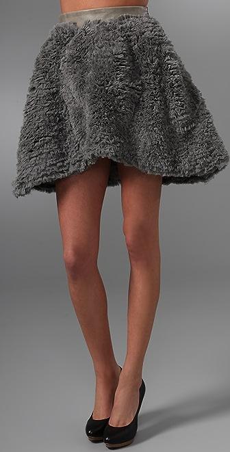 Ellery Versatile Ruffled Shade Skirt