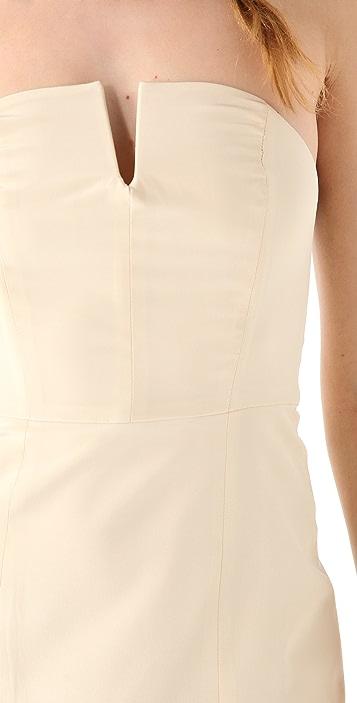 Ellery Lovebug Strapless Dress