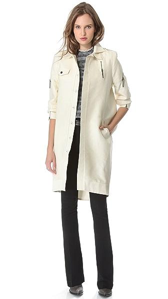 Ellery Long Cocoon Jacket