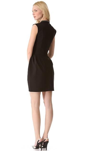 Ellery Dress with Neckpiece