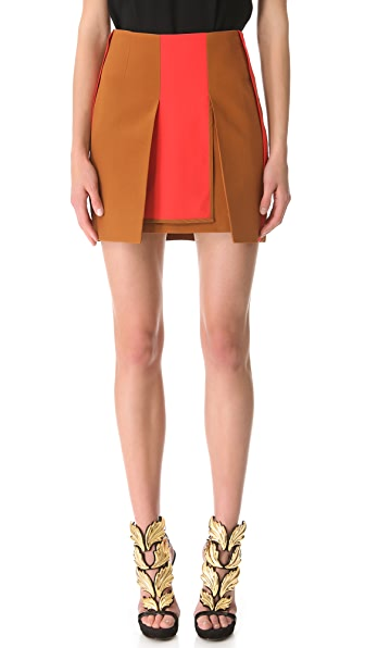 Ellery Mavericks Split Miniskirt