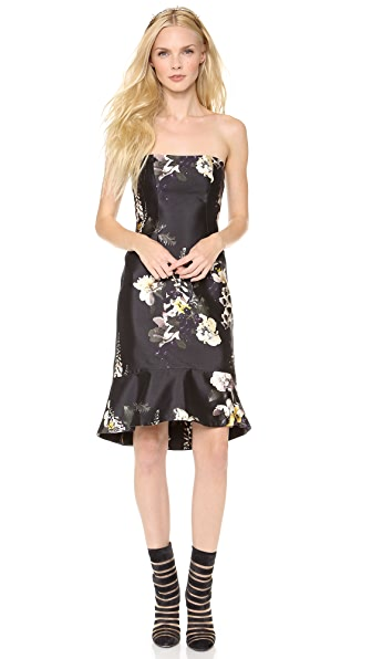 Ellery Ten Pin Strapless Dress