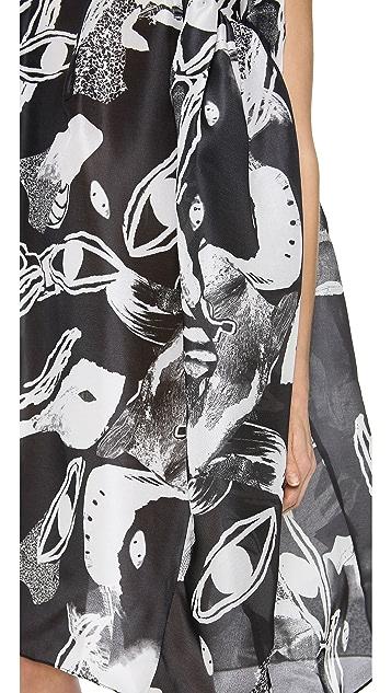 Ellery Existential Oversized Shift Dress