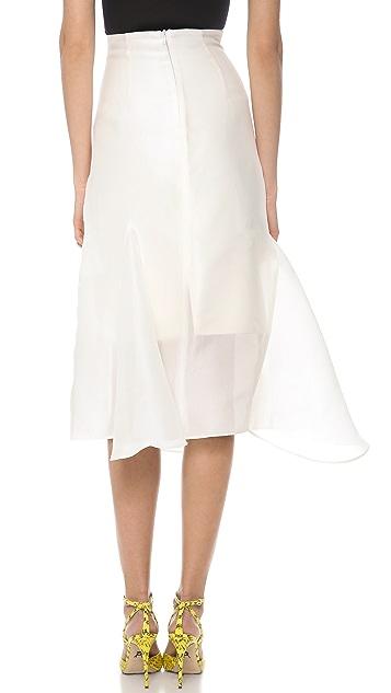 Ellery Suzette Fluted Skirt