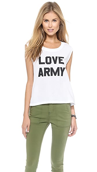Electric Love Army Love Army Muscle Tee