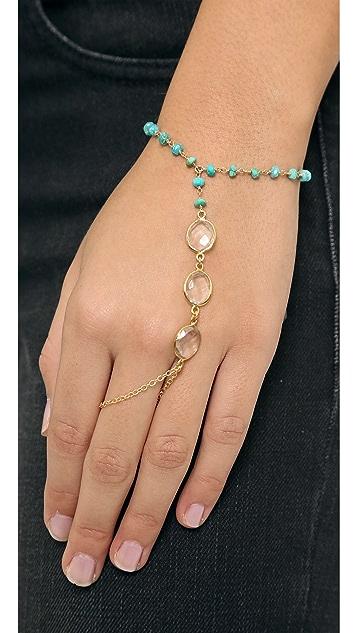 Ela Rae Clara Hand Chain