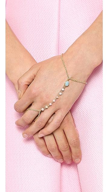 Ela Rae Cecilia Hand Chain