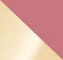 Pink Sapphire/Smoky Quartz/Gol