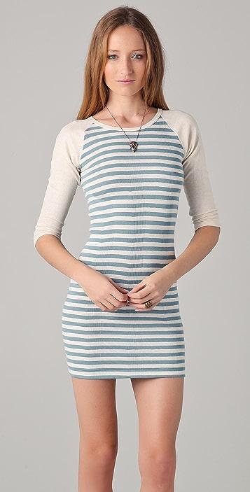 Edith A. Miller Baseball Mini Dress