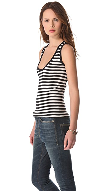 Edith A. Miller Scoop Sleeveless Sweater