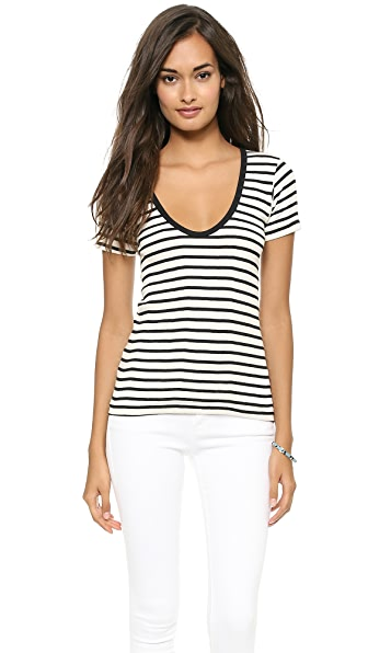 Edith A. Miller Scoop Neck Tee