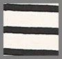 Natural/Black Sailor Stripe
