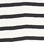 Natural/Black Sailor Stripe