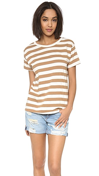 Edith A. Miller Boyfriend Short Sleeve Tee
